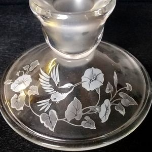 VINTAGE BUT NWT HUMMINGBIRD CANDLE 🕯️ HOLDERS